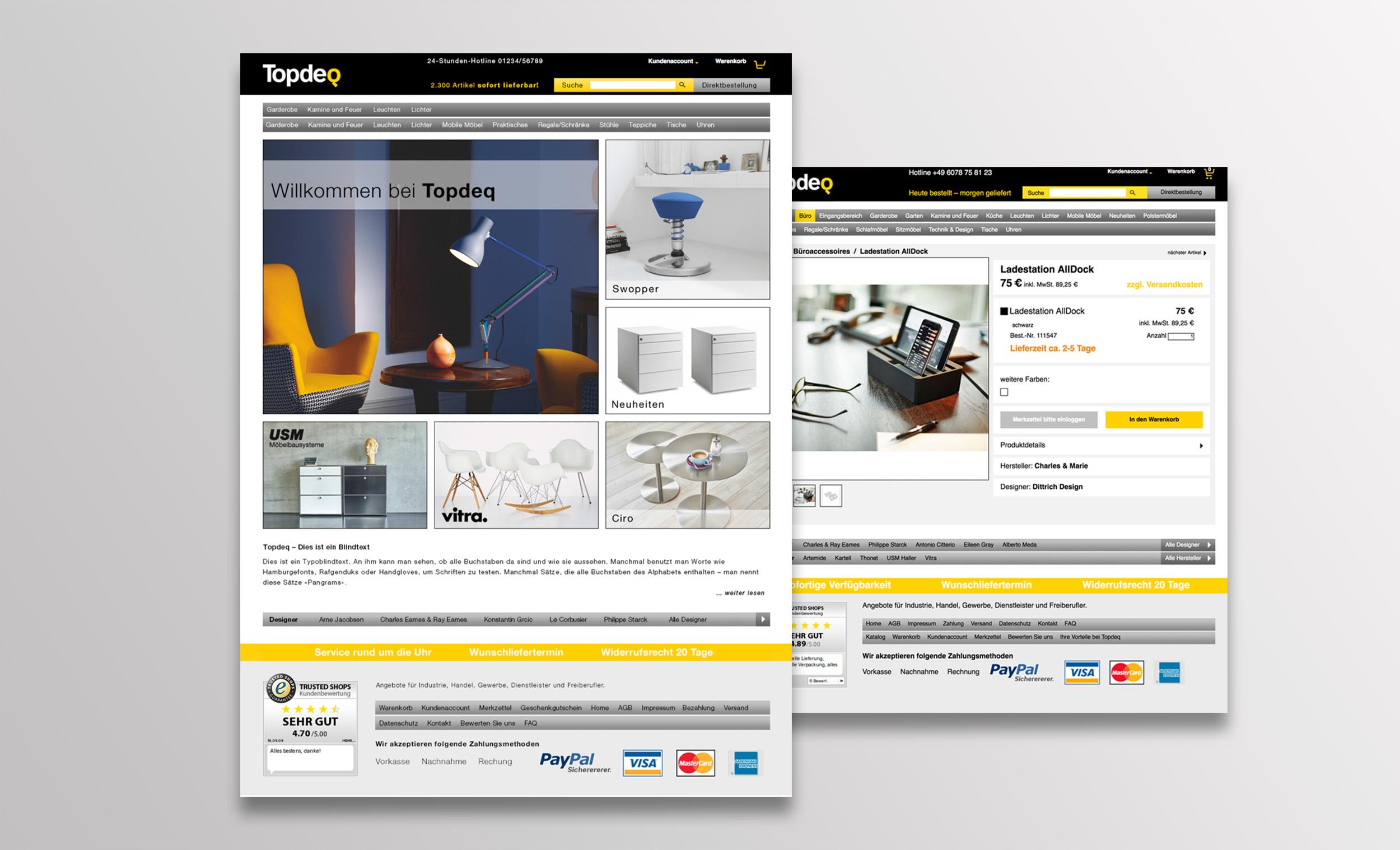 Topdeq online shop bohm und nonnen bohm nonnen urhahn for Topdeq design